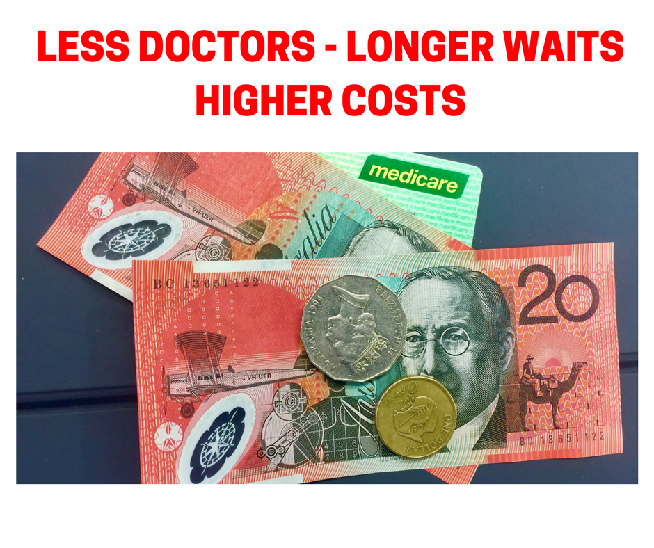 NEW LEGISLATION – A DISASTER FOR DOCTORS AND PATIENTS
